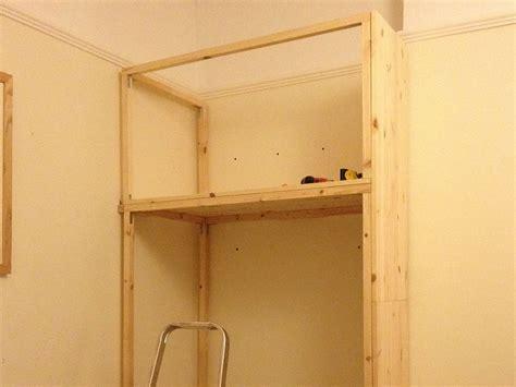 Building A Wardrobe by Diy Wardrobe In Alcove Search Alcove Alcove