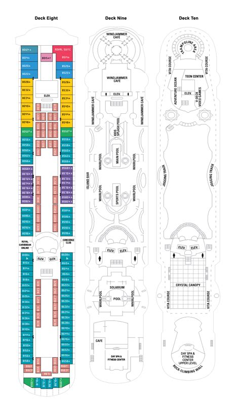 enchantment of the seas deck plan quotes