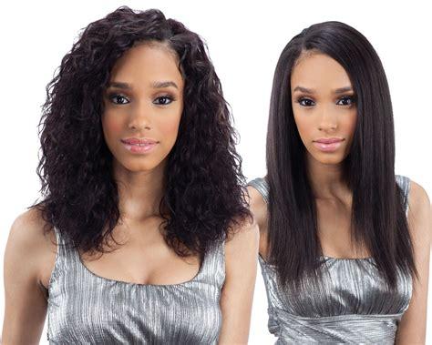 Wet N Wavy Weave Hairstyles