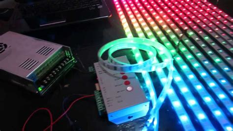 make your own led l how to build an led display 1 basic wiring and setup of