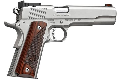 ls on sale at target kimber stainless target ls 10mm with 6 inch barrel