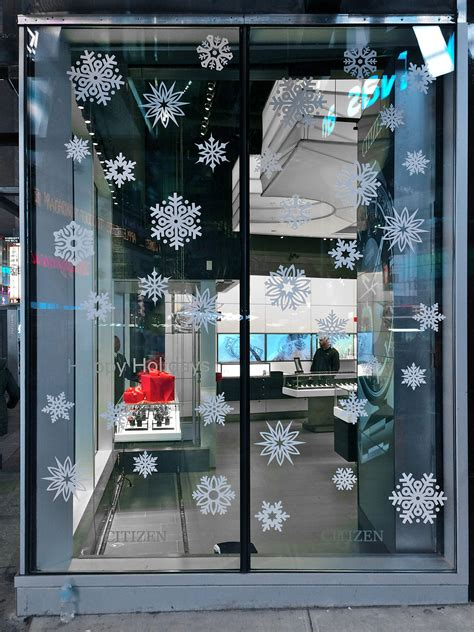 frosted clings on storefront window 40visuals
