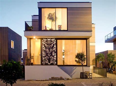 model rumah minimalis  lantai  gaya kontemporer