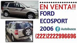Camionetas Baratas- Ford Ecosport 2006