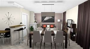 best salle a manger orange et taupe gallery lalawgroup With salle a manger one cap