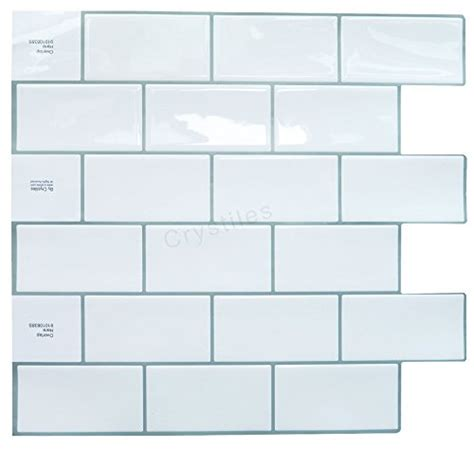 crystiles 91010835b crystiles peel and stick self adhesive