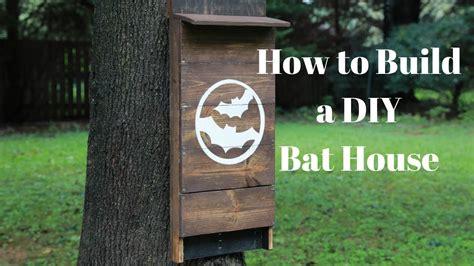 build  diy bat house diy crafts thrift diving