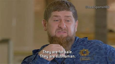 chechen president ramzan kadyrov brands gay people
