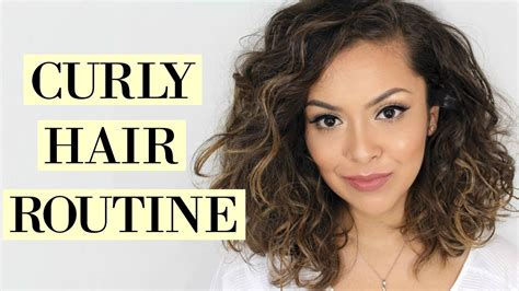 Curly Hair Routine For Short Hair