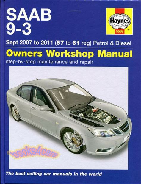 car repair manuals online free 2011 saab 9 4x electronic toll collection shop manual 9 3 service repair saab haynes 93 book workshop guide ebay