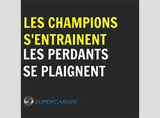 Motivation Citations d'entrainement SuperCardio