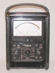 Simpson 260-8prt - Volt - Ohm
