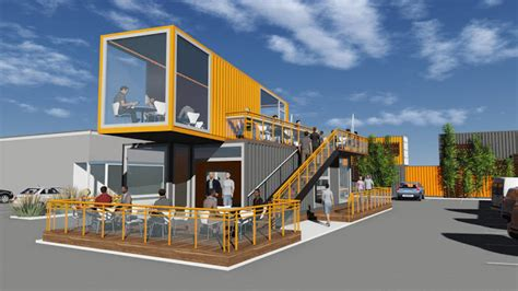 Shipping Container Cafe Idea Pop up Container Coffee shop Design idea   Container Cafe,Container
