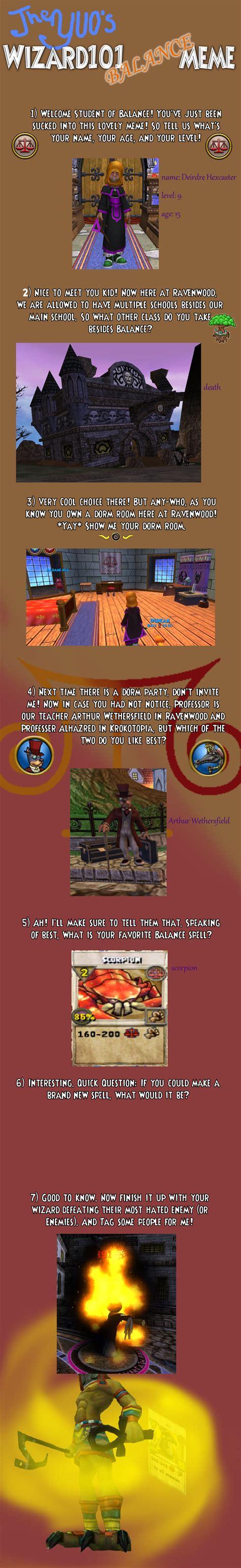 Wizard101 Memes - wizard101 balance meme by odscene on deviantart