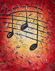 Warm Notes Painting by Paul Bartoszek