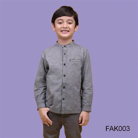 baju muslim baju koko anak afrakids afra fak003 jual kaos anak muslim jilbab anak agen