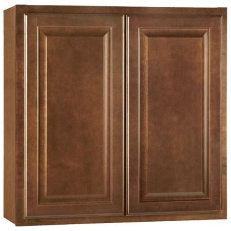 home depot wall cabinets hton bay 30x30x12 in hton wall cabinet in cognac
