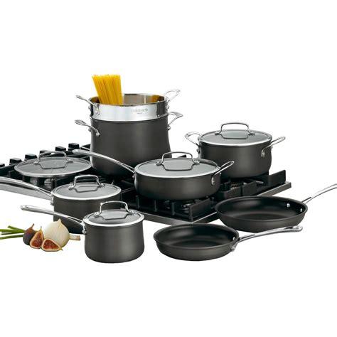 cuisinart contour anodized 13 pc cookware set