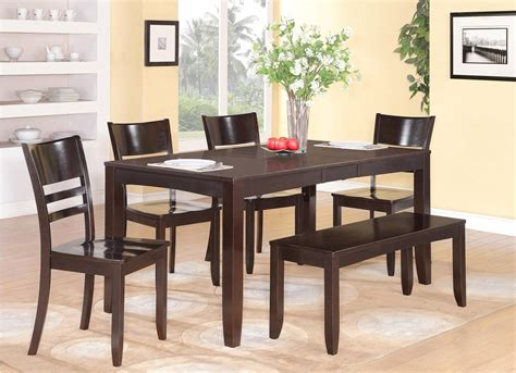 pc rectangular dinette kitchen dining table   wood