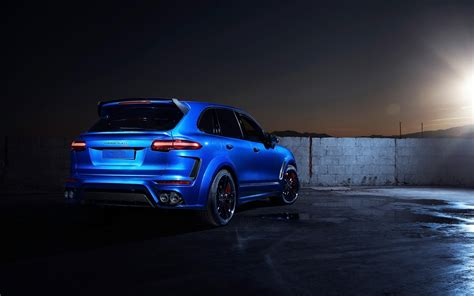 techart porsche cayenne magnum sport  wallpaper hd