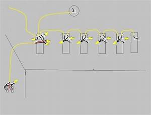 How To Wire Two Light Switches With 2 Lights With One