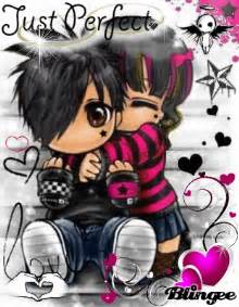 Cute Emo Anime Couple