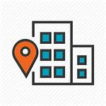 Office Address Icon Location Icons Apartment Welcome