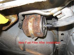 How To Replace Fuel Filter 2000 Taurus Se With Pictures