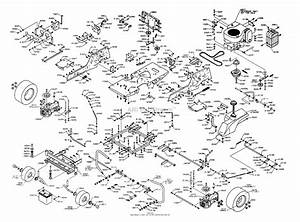 Dixon Ztr 4515b  2003  Parts Diagram For Chassis