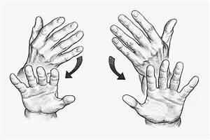 Alyssa  Cool Flat Hand Drawing Palm Down