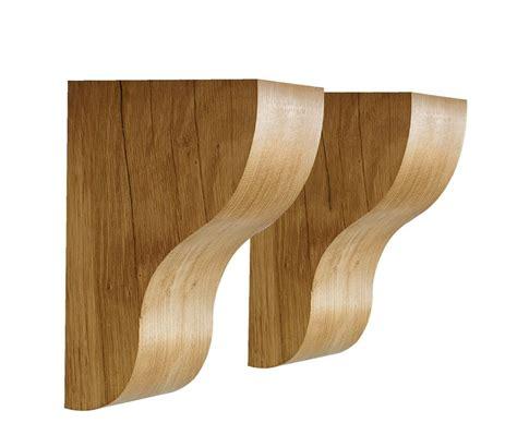 Corbels Uk by Solid Oak Mantel Corbel Set Traditional Support