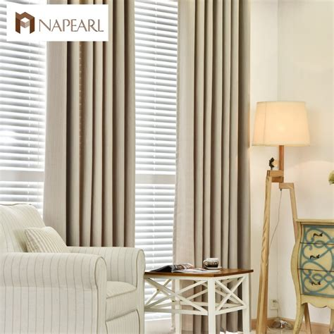 linen curtains modern blackout bedroom curtains full shade