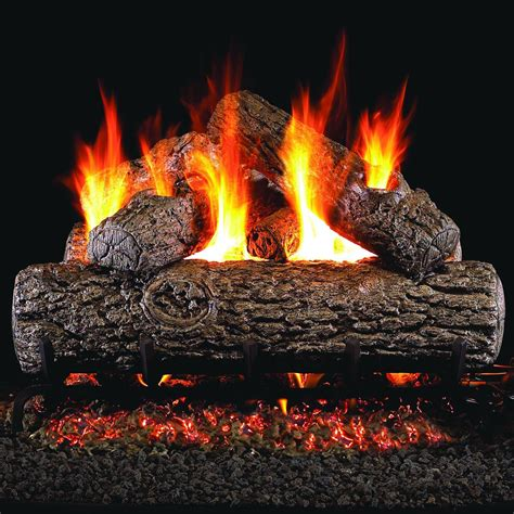 Peterson Real Fyre 18 Inch Golden Oak Gas Log Set With