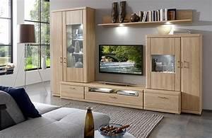 Möbel As Wohnwand : ideal m bel wohnwand bruel 41 eiche bianco m bel letz ihr online shop ~ Watch28wear.com Haus und Dekorationen