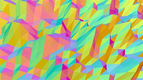 Rainbow Animated Wallpaper - moving rainbow triangles hd animated background