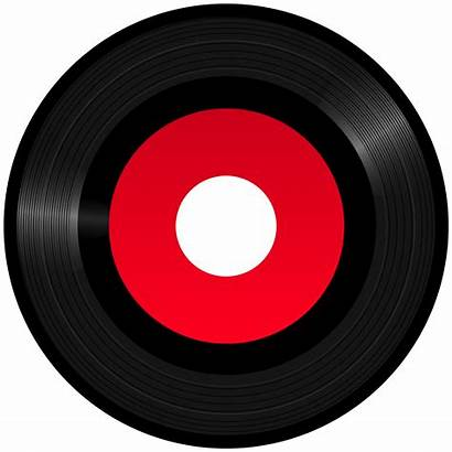 Record Vinyl Clipart Clip Silhouette Gramophone Transparent