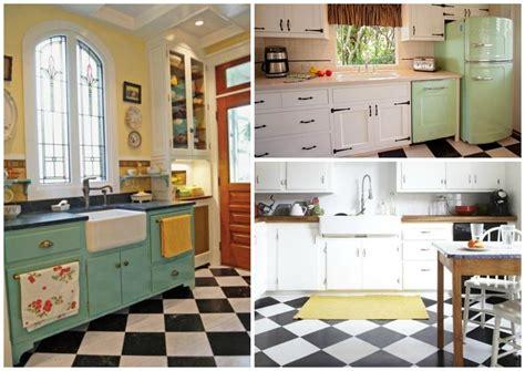 vintage kitchen flooring 15 essential design elements for a perfectly retro kitchen 3217