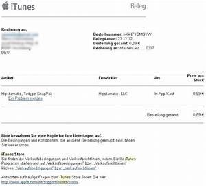 Rechnung Per Email Gültig : itunes rechnungen anzeigen und verwalten giga ~ Themetempest.com Abrechnung