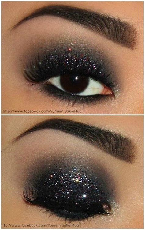 shimmery eye makeup ideas  special occasions pretty designs