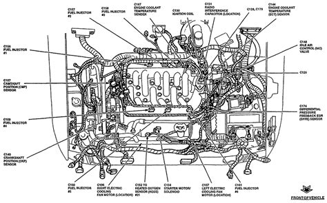 2003 Escape V6 Engine Diagram by 38 2003 Ford Windstar Vacuum Hose Diagram Ford F 150 2wd