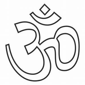 Stroke yoga symbol - Transparent PNG & SVG vector