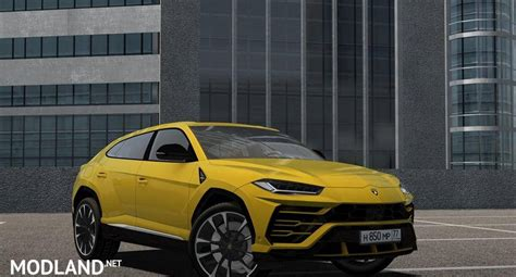 lamborghini urus mod city car driving