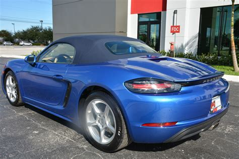 Find the right used porsche 718 for you today from aa trusted dealers across the uk. Used 2017 Porsche 718 Boxster For Sale ($58,900)   Marino Performance Motors Stock #221945