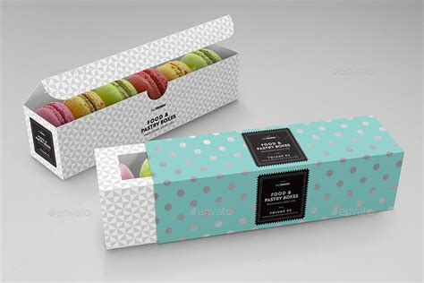 See more ideas about packaging mockup, mockup, packaging. Food Pastry Boxes Vol.2: Cookies | Macarons | Pastry Take ...