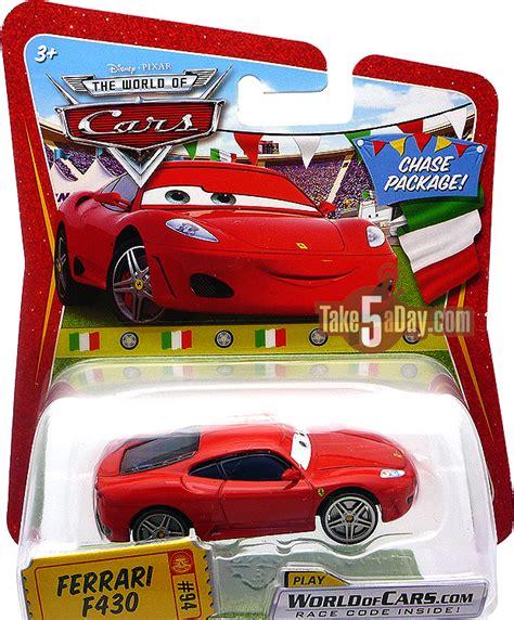 disney cars ferrari mattel disney pixar diecast cars chase complete checklist
