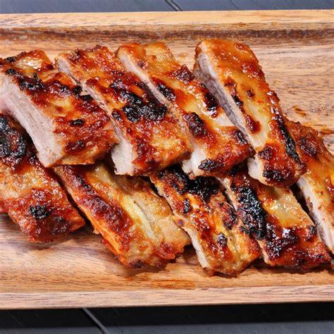 viande a cuisiner recette travers de porc caramélisés ou quot ribs quot