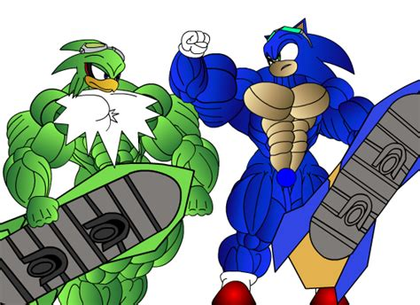 Sonic Muscle Growth