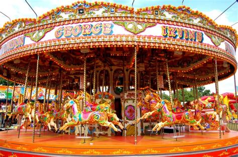 carousels fairground ride hire and corporate funfairs irvin leisure