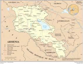 Armenia World Map