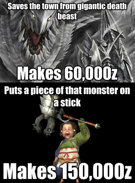 Hunter Memes - monster hunter memes monster hunter pinterest monster hunter monsters and memes